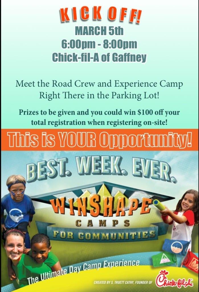 Winshape Camp Gaffney