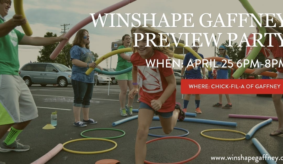 Winshape Camp Gaffney Preview Party