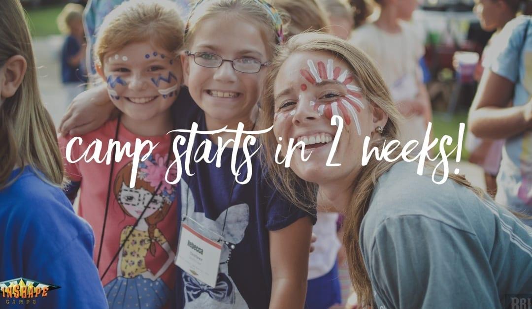 Winshape Camp is two weeks away!
