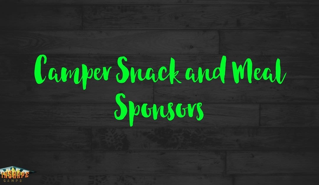 Camper Snack and Meal Sponsors – Winshape Camp Gaffney 2016