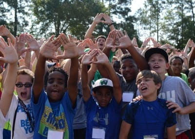 winshape camp campers